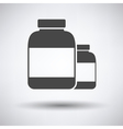 Pills container icon vector image vector image
