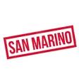 San Marino rubber stamp vector image
