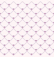 seamless pattern repeating rhombuses with vector image vector image