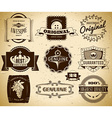 Vintage labels Collection 22 vector image
