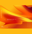 abstract orange shades background vector image