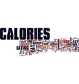 lose weight find hidden calories text background vector image vector image
