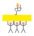 Success Concept People vector image