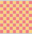 red and orange tile vector image