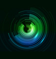 abstract technical background with circles and vector image