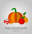background to the thanksgiving holiday stylish vector image
