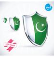 I Love Pakistan Flag vector image
