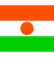 niger flag vector image vector image