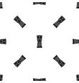 tamtam pattern seamless black vector image