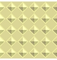Tiles texture from gold metal blocks Seamless vector image