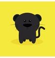 Cute Cartoon Jaguar vector image