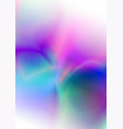 abstract lights colorful background vector image vector image