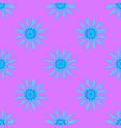abstract pattern on the pink background vector image vector image