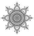 eye mandala projects 1 vector image