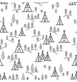 nature travel pattern vector image