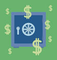 stronbox security money vector image