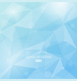 winter colors abstract background with vector image vector image
