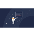 404 error page template for website Open space vector image