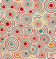 color circle pattern vector image vector image