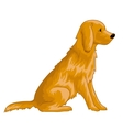 Cute dog eps10 vector image vector image