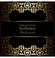 Invitation decorative 21 vector image vector image