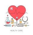 Medicine background vector image vector image