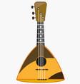 music instrument balalaika vector image