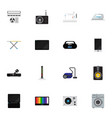set of 16 editable tech icons includes symbols vector image vector image