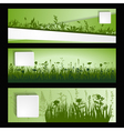 strip of grass vector image vector image