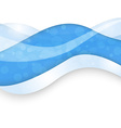Abstract background with blue lines vector image vector image
