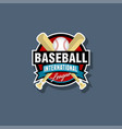 baseball emblem baseball logo