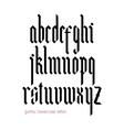 Blackletter modern gothic font