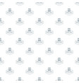 office tool pattern seamless vector image vector image
