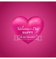 Shiny Valentine background vector image vector image
