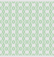 tile pattern with green pattern on grey background vector image vector image