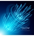 background with a glowing effect vector image vector image