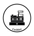 Cashier icon vector image vector image