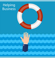 helping business survive vector image