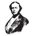 john ericsson vintage vector image vector image