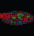 lose weight in your hips only not text background vector image vector image