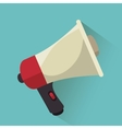 megaphone speak news graphic vector image vector image