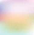 Pastel polka dot background vector image