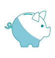 piggy bank safe money deposit concept vector image vector image