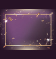 purple gradient party and celebration background vector image