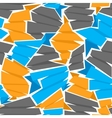 Seamless flat ribbons pattern vector image