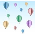balloon set vector image vector image