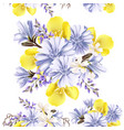 Flower seamless pattern with flowers