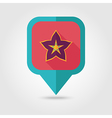 Starfruit Carambola Carom pin map icon Fruit vector image vector image