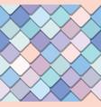 trendy fresco mosaic seamless background vector image