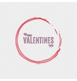 Valentines day - calligraphy typography badge It vector image